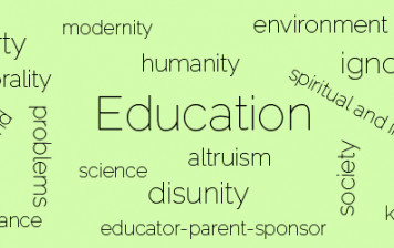 Pillars of Gulen's educational philosophy: Problems education can solve